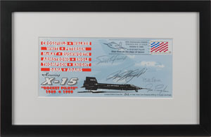 X-15 Pilots Signed Cover