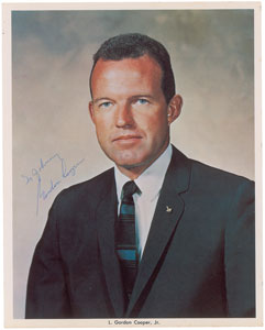 Gordon Cooper Signed Photograph