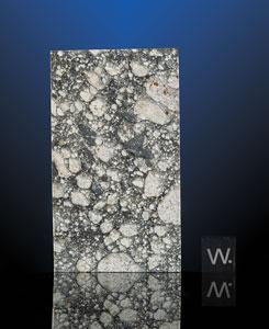 "Northwest Africa (NWA) 5000 Lunar Meteorite Part Slice ""The Monolith"""