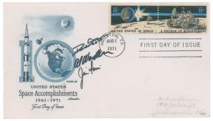 Apollo 15 Signed Cover