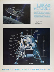 Fred Haise Signed Poster