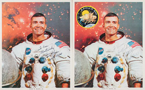 Fred Haise Signed Photographs