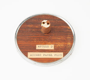 Apollo 9 Flown Access Panel Plug