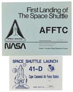 Space Shuttle Launch Vehicle Permits