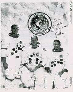Jim Irwin Signed Photograph