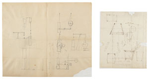 Robert Fulton Original Drawings