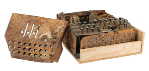 Relic Battlefield-Found Enigma I Cipher Machine