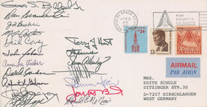 NASA Group 8 Signed Covers
