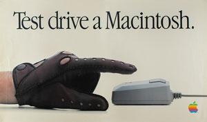 Apple 1984 'Test Drive a Macintosh' Dealer Poster
