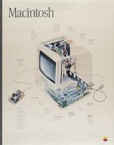 Apple 1984 Mac X-Ray Launch Poster