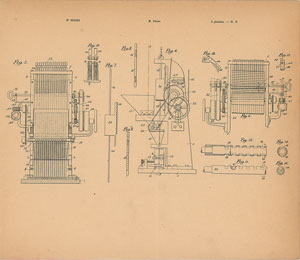 Thomas Edison Electrode Tube Machine Patent Lithograph