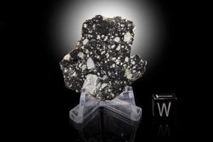 Northwest Africa (NWA) 11303 Lunar Meteorite Part Slice