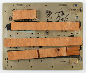 Apollo Command Module Block 1 and Block 2 Control Panel Components