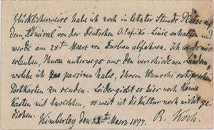 Robert Koch Autograph Letter Signed