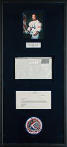 Apollo 15 Flown LM Utility Towel Assembly Bag