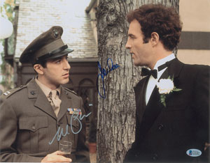 The Godfather: Pacino and Caan