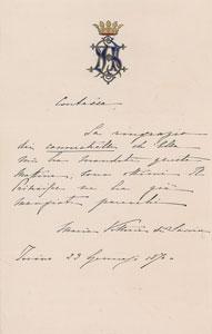 Queen Maria Vittoria dal Pozzo