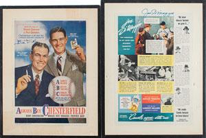 Joe DiMaggio and Bill Dickey