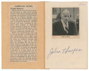 John T. Scopes