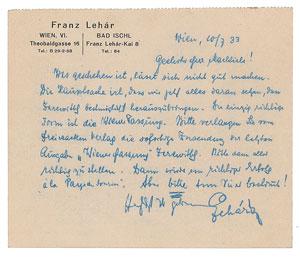 Franz Lehar