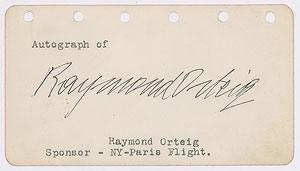 Raymond Orteig