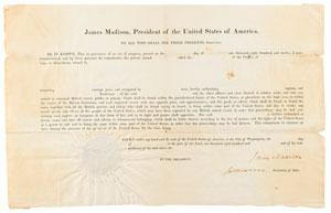 James Madison and James Monroe