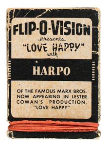 Marilyn Monroe and Harpo Marx