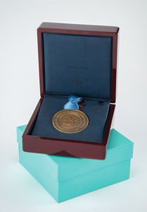 53rd Annual Grammy Awards: Bronze Tiffany Nominee Medal