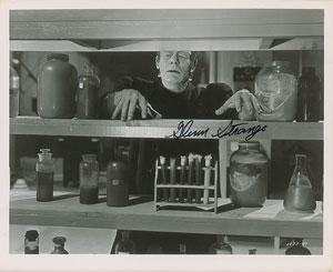 Frankenstein: Glenn Strange