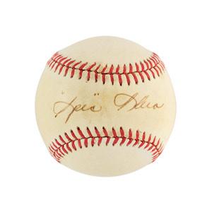 Spec Shea Signed Baseball