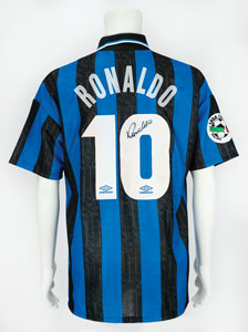 Soccer: Ronaldo