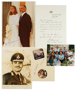King Hussein and Queen Noor