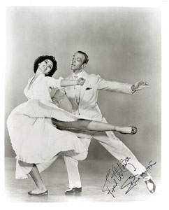 Fred Astaire and Cyd Charisse