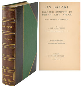 On Safari Book by Abel Chapman