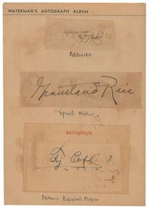 Waterman Autograph Album