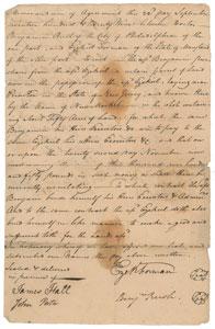 Benjamin Rush and Richard Stockton
