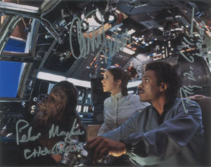Star Wars: Fisher, Mayhew, and Williams