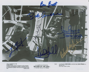 Star Wars: Hamill, Prowse, Jones, and More