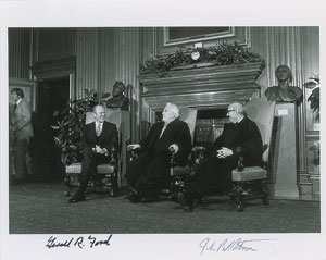 Gerald Ford and John Paul Stevens