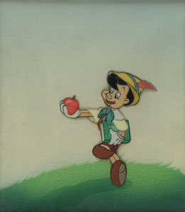 Pinocchio production cel from Pinocchio