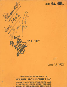 PT-109 Script