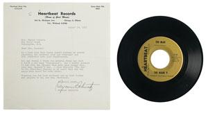 Jacqueline Kennedy's 'Jacqueline' 45 RPM Record