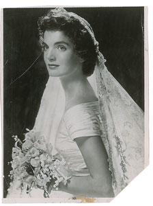 Jacqueline Kennedy Wedding Photo