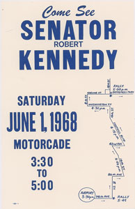 Robert F. Kennedy Broadside