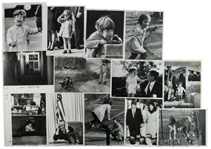 Kennedy Family Group of (12) Photographs
