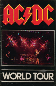 AC/DC Signed Program