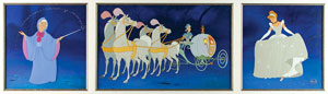 Cinderella limited edition hand-painted cels