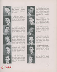 Robert F. Kennedy Harvard Yearbook