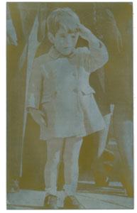 John F. Kennedy, Jr. Photoengraver's Plate