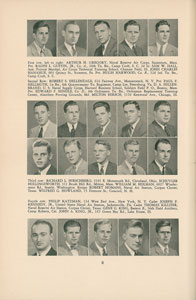 Joe Kennedy, Jr. 1941-1942 Harvard Law Yearbook